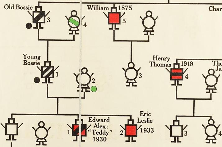 Heredity charts I-VI: published for the Eugenics Society by George Philip & Son Ltd.