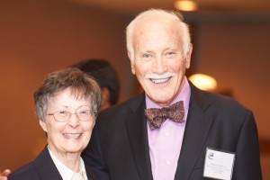 Linda Leahy and featured speaker William Fowler