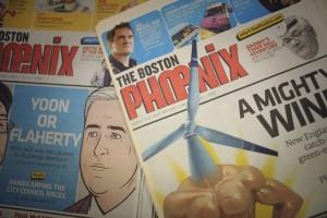 Copies of The Boston Phoenix
