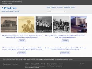 A Proud Past Website