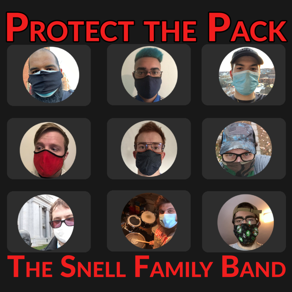 Cover art of Protect the Pack by The Snell Family Band