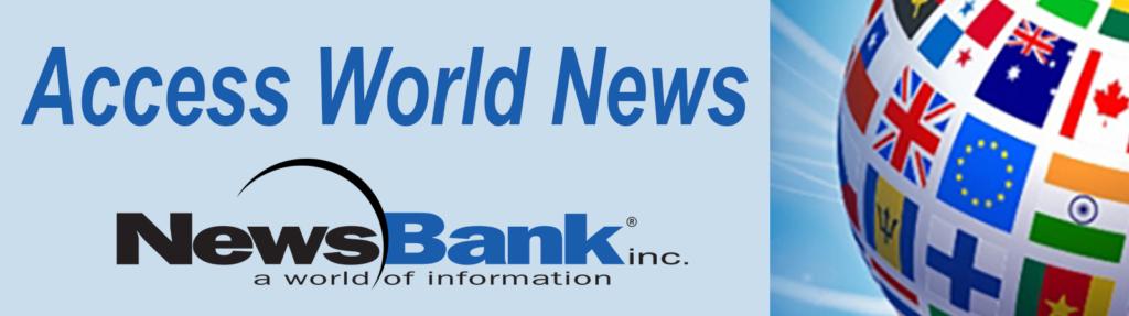Access World News database logo